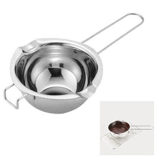 Load image into Gallery viewer, Creative Stainless Steel Water Bath Chocolate Pot Melting Water Heating Melting Pot Heating Cooking Bowl Kitchen Accessories Box