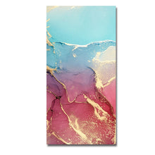 Load image into Gallery viewer, Canvas Painting Mix Color Marble Vein Poster Print on Abstract Wall Painting Wall Art Pictures For Living Room Home Decoration