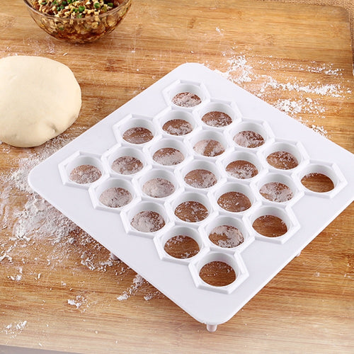 23 Holes ABS Dumplings Maker Mold Square Mould Accelerating Device Baking Pastry Press Fast Make Kitchen Accessories