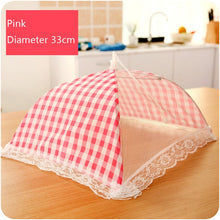 Load image into Gallery viewer, Kitchen Folded Food Cover Hygiene Grid Style Kitchen Food Dish Cover Kitchenware Dropshipping Apr29