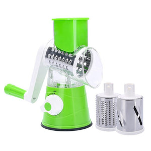 3 In1 Multifunctional Round Mandoline Slicer Manual Vegetable Cutter grater Vegetable Spiralizer Potato Slicer Kitchen Gadgets