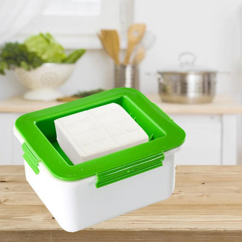 New Plastic Tofu Presser Drainer Time-saving Convenient Fast Water Removing Gadget Kitchen Tools Tofu Accessories