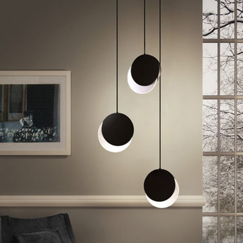 Nordic Pendant Light Eclipse Lamp