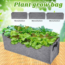 Load image into Gallery viewer, Nonwoven Fabric Raised Garden Bed Square Garden Flower Grow Bag Vegetable Planting Bag Planter Pot with Handles for Plant Flower