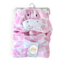 Load image into Gallery viewer, Baby Blanket & Swaddling Newborn Thermal Soft Coral Fleece Blanket Cute Cartoon Portable Swaddling Sleepsack Play Mat New