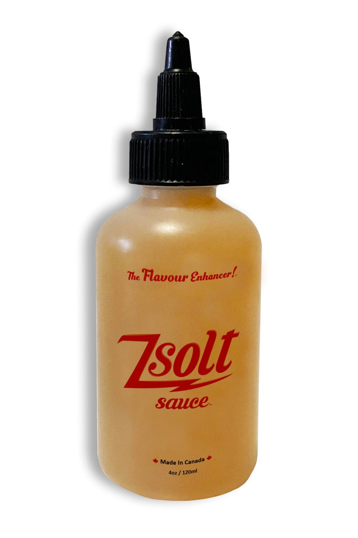 Single 120ml Bottle of Zsolt Sauce