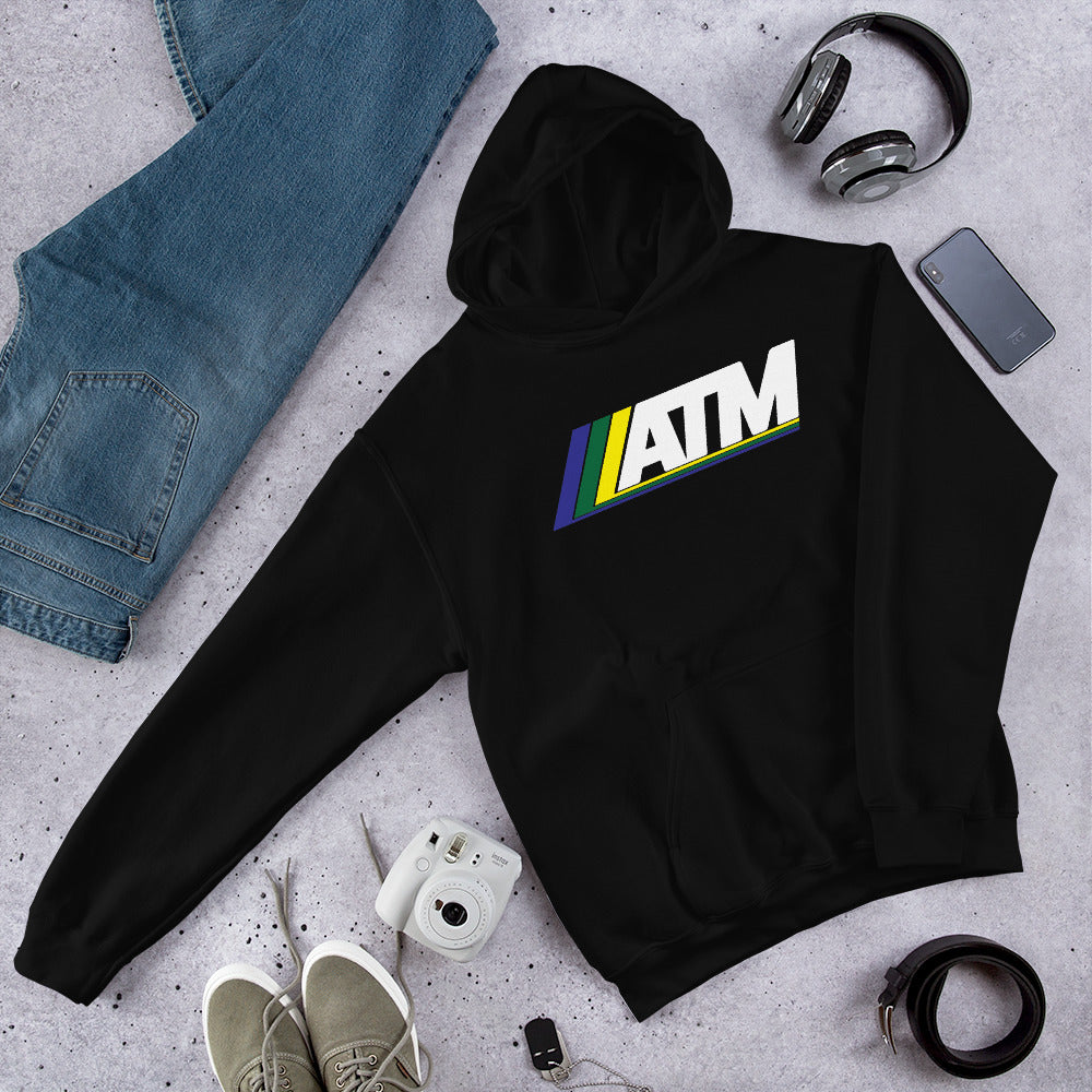 ATM (White Logo) Hooded Sweatshirt