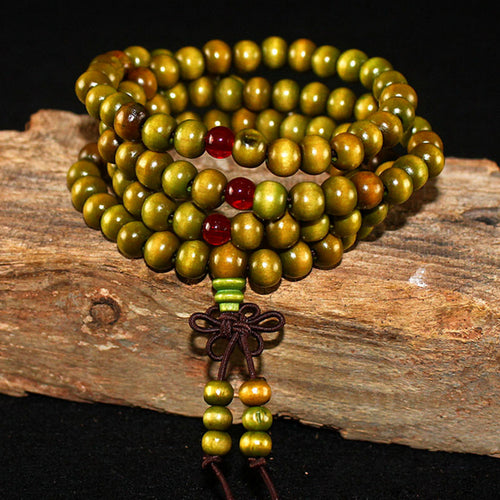 6MM Wood Meditation Beads