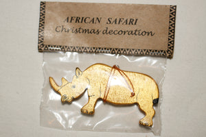 Christmas Animal Ornaments