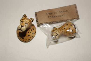 Cheetah Fridge Magnet