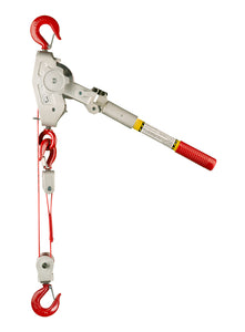 1 1/2 Ton Web Strap Hoist w/ Eye Bolt Main Frame