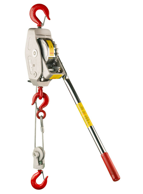 1 1/2 Ton Cable Hoist w/ Rapid Lowering