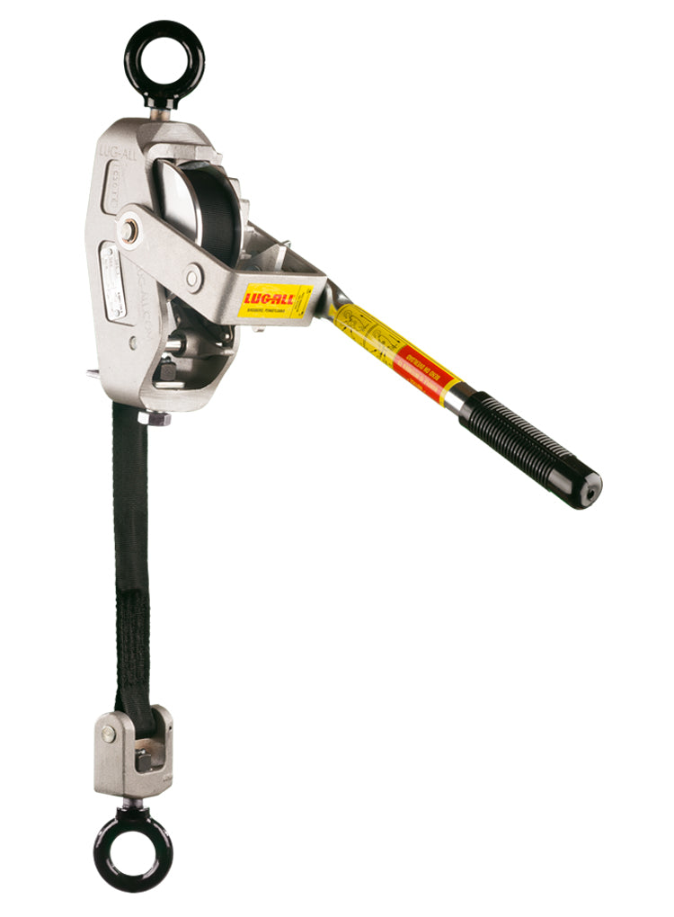 1/4 Ton Web Strap Hoist w/ Eye Bolts
