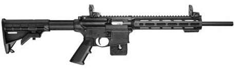 "S&W M&P1522 c.22 LR RIFLE 16.1""BRL M-LOK VERSION"