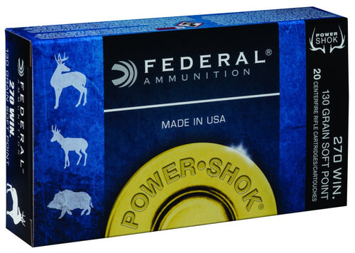 FEDERAL 270 WIN. 130GR. SP
