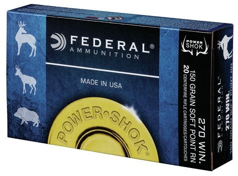 FEDERAL 270 WIN. 150GR. SP
