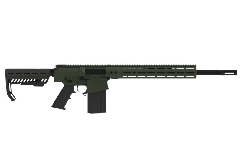 "BLACK CREEK LABS 102 - 308 WIN 18.6"" Barrel - Non Restricted - OD GREEN"