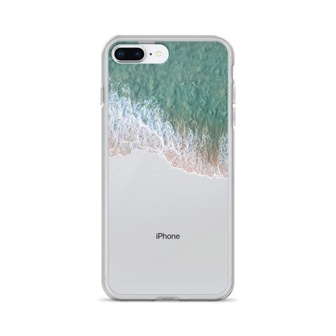 Iphone 6 Plus/6S Plus Case -Iphone 7/8 - Iphone 7 Plus / 8 Plus - Iphone X/Xs - Iphone XS Max Case With Sea Foam Froth