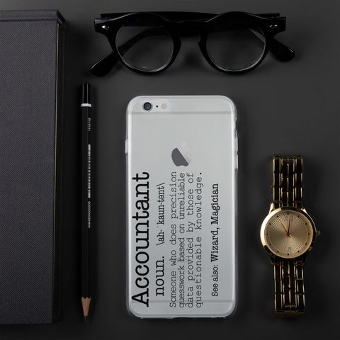 Image of Accountant iPhone Case | Love My Job | Funny Accountant Gift | Funny Gift Idea | Gift For Him | Gift For Her |