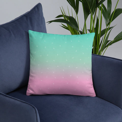 Image of Designer Pillow Basic Pillow - Personalised - Your Name Here
