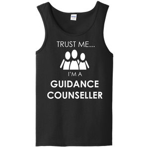 Trust Me I'm a Guidance Counceller Unisex Tank Top by iLifestyle Hut