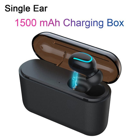 Wireless Headphones 5.0 Stereo Earbuds Bluetooth Earphone Headphones TWS Wireless Bluetooth Headset with Charging Box