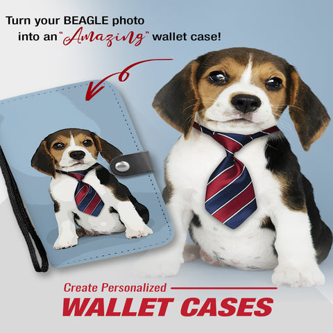 Personalized Wallet Case | Add Your Own Image (Front And Back)  And Text | RFID Protection Built In
