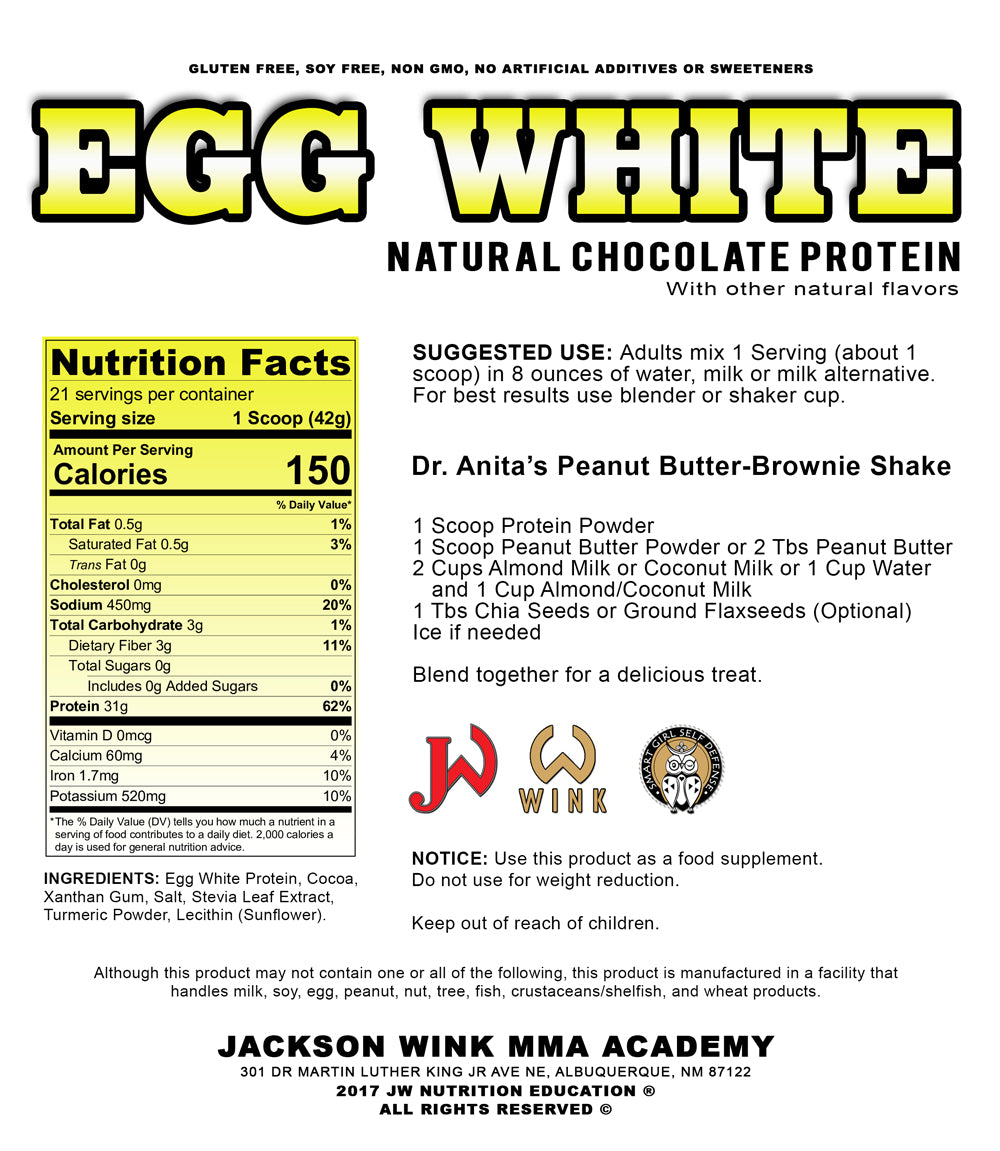 JW Chocolate Egg White Protein