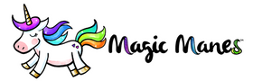 Magic Manes Hair Extensions for Kids and Teens Logo