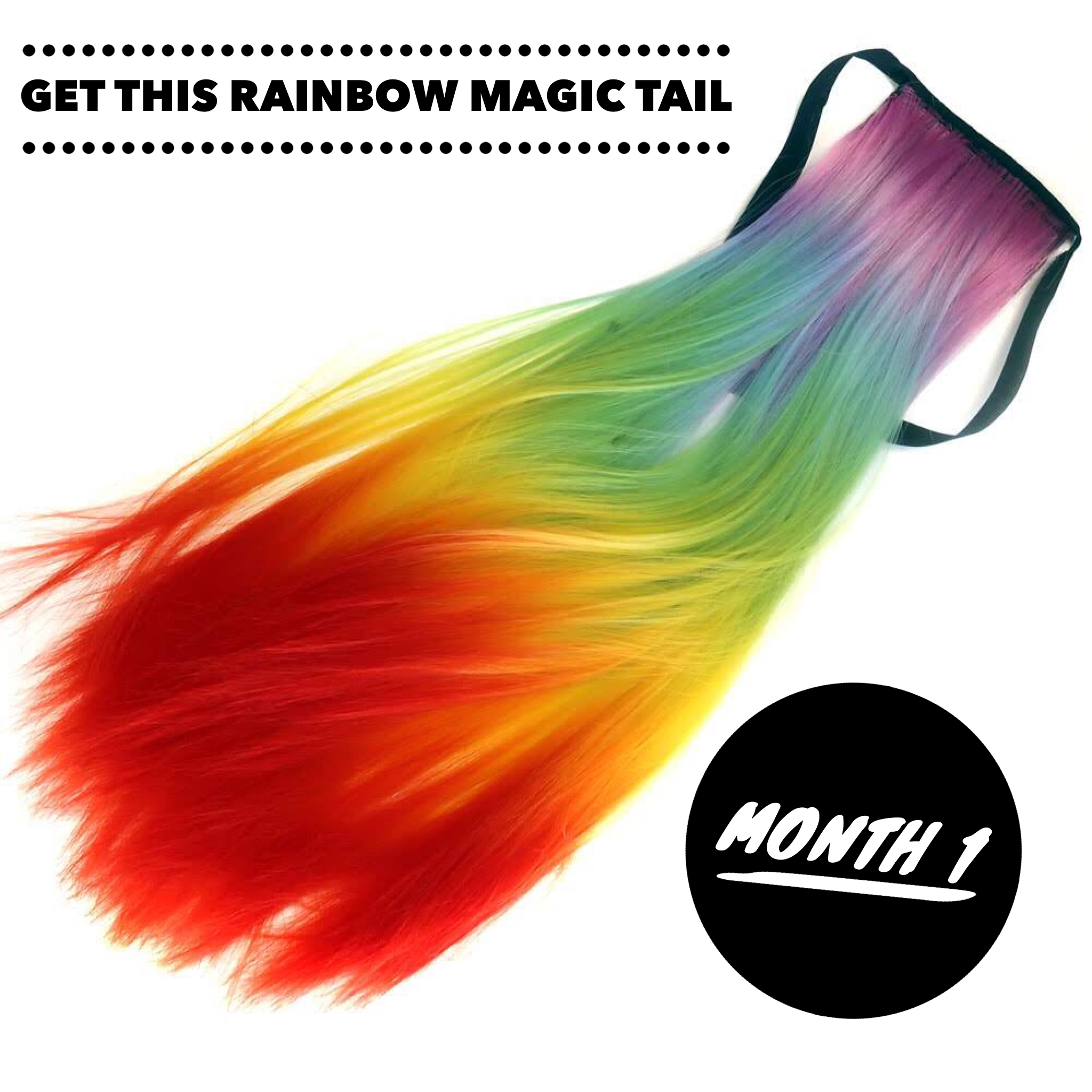 Unicorn Club: Hair of the Month Subscription