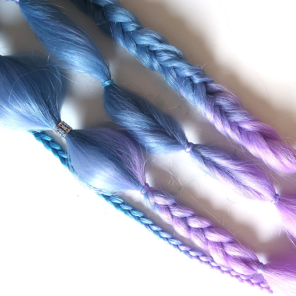 "Jellybean 24"" Magic Clip-in Boho Braids"