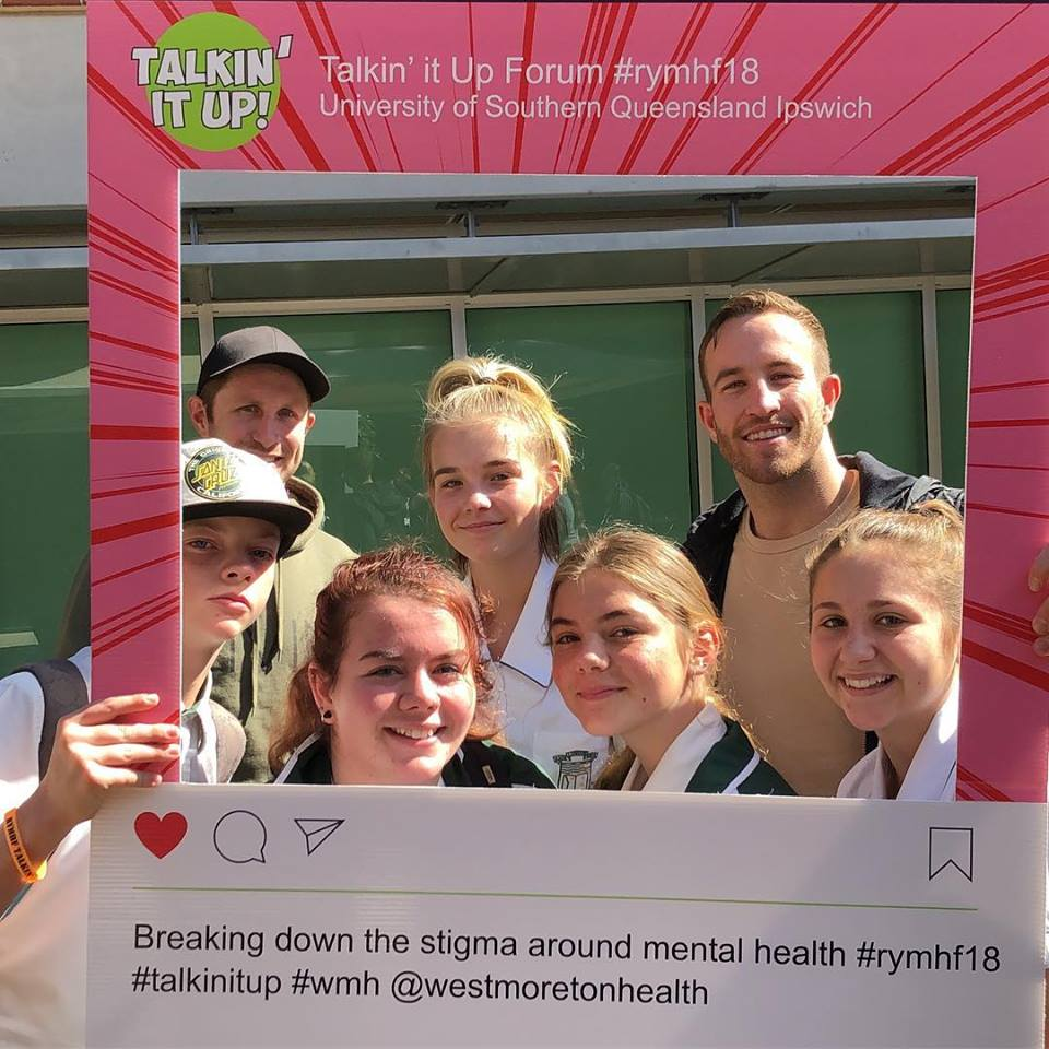 Talkin' It Up for Youth Mental Health