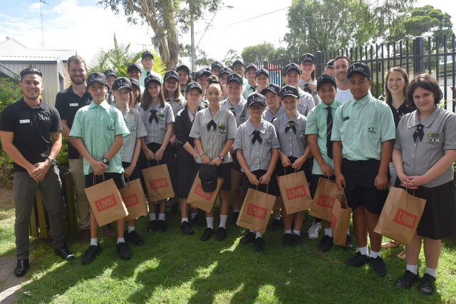 Bundamba College welcomes it's LIVIN Leaders