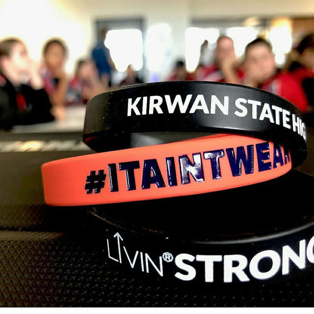 LIVIN Strong program at Kirwan State High School