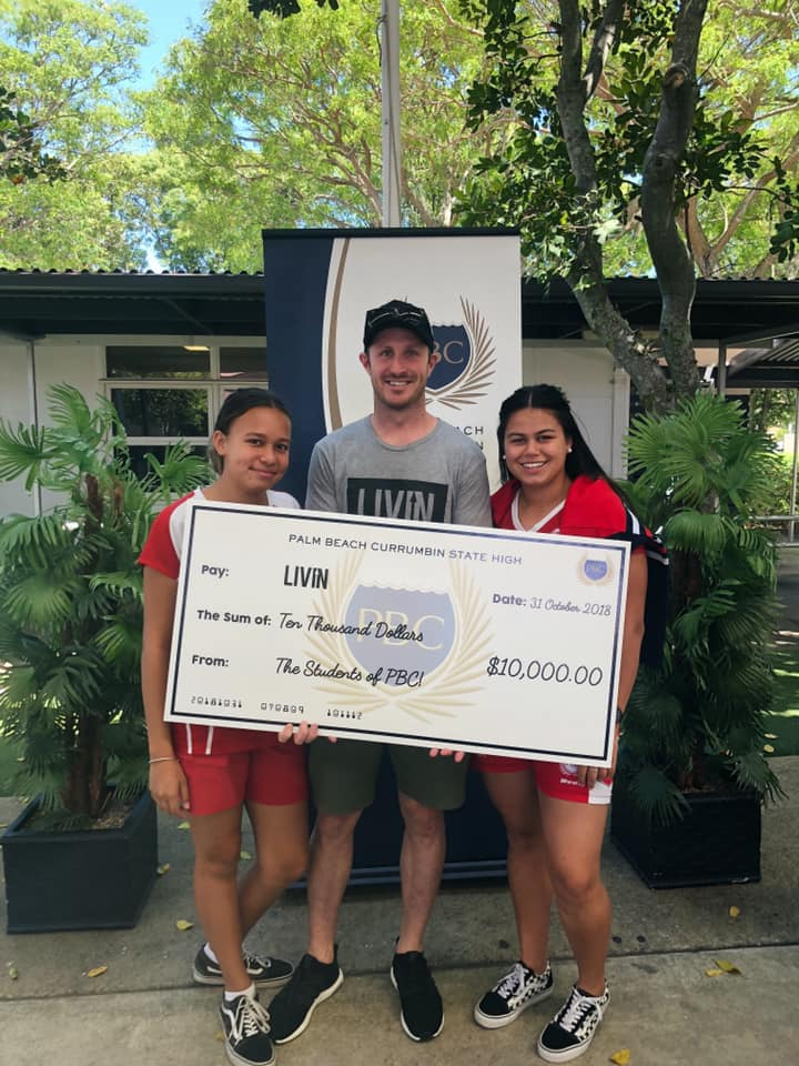 Gold Coast High School Gives Back