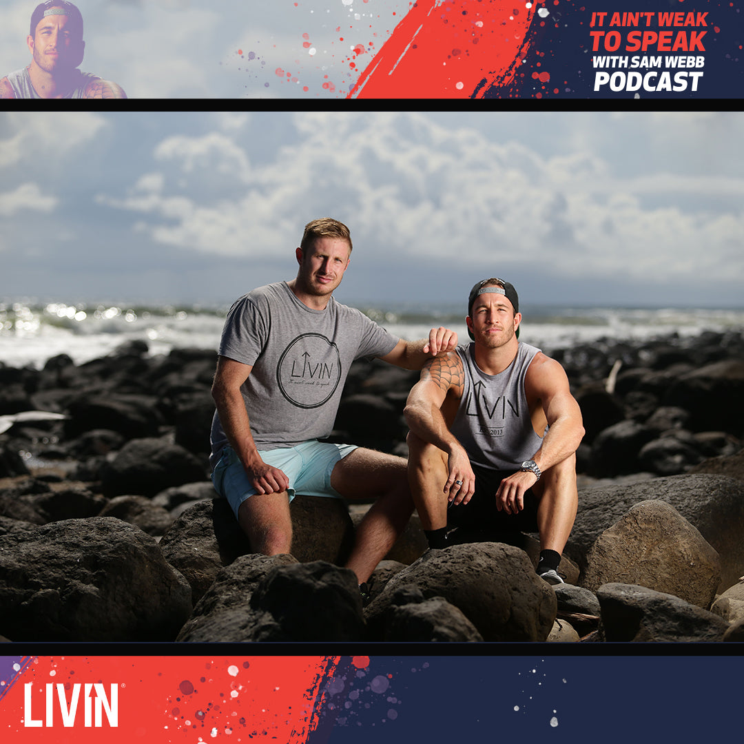 Episode 1: LIVIN - Why It All Began with Co-Founders Sam Webb and Casey Lyons