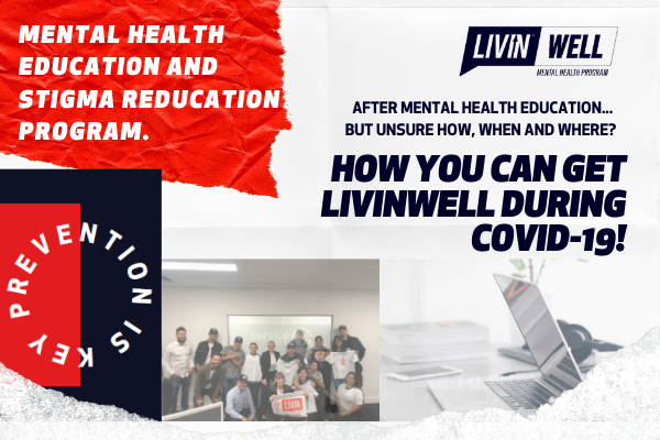 Delivering our LIVINWell Program during COVID-19