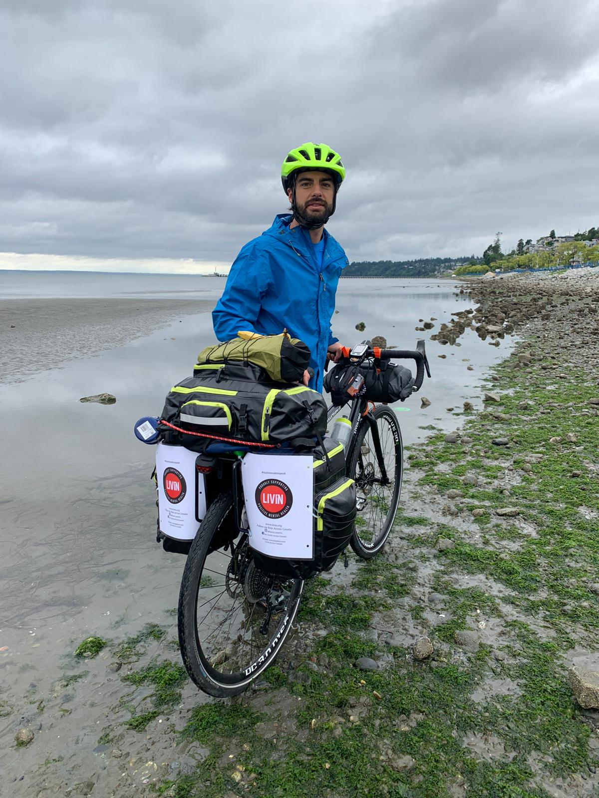 Cycling Across Canada for LIVIN