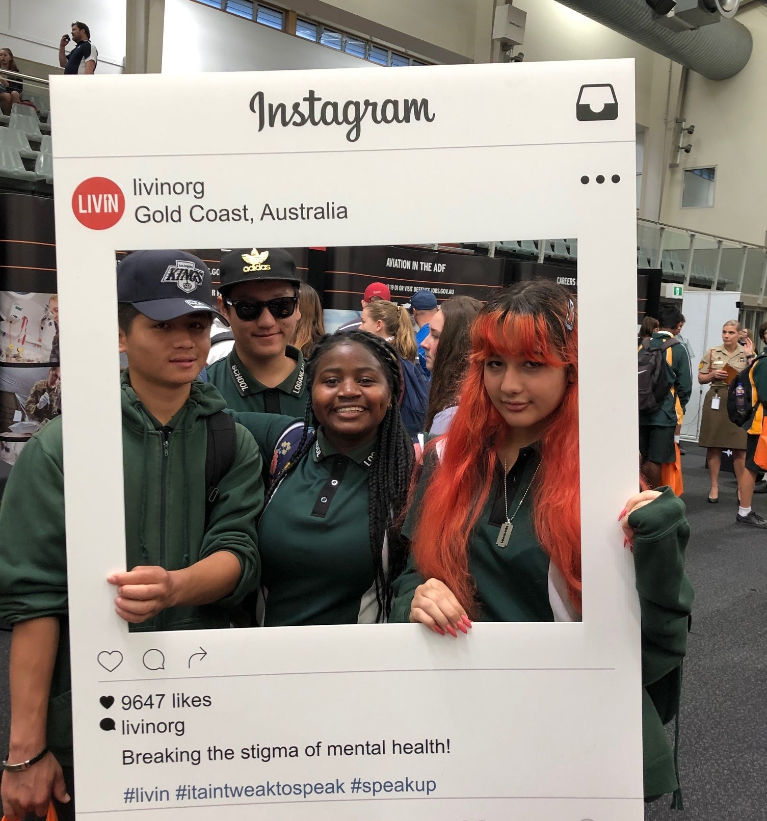 LIVIN hits the stage at Ignite Youth Careers Expo 2019