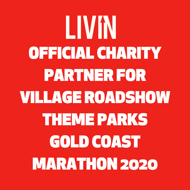 LIVIN named as official charity partner for Gold Coast Marathon 2020!