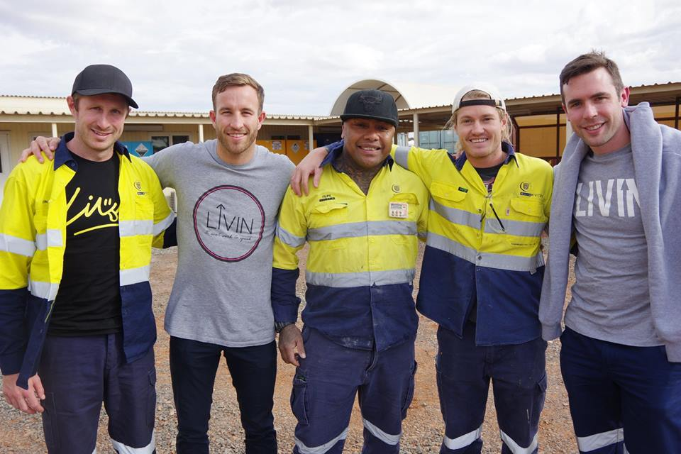 LIVIN hits the Gold Fields in Western Australia
