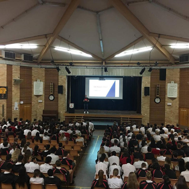 LIVIN Spreads the message at Endeavour Sports High