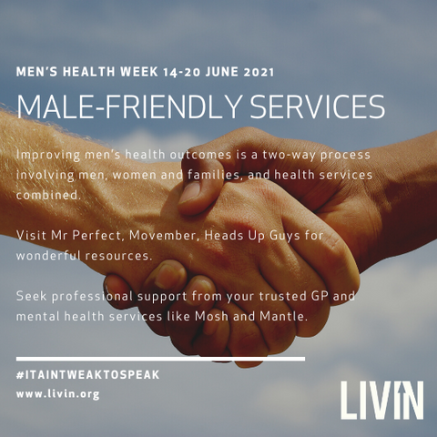 MALE-FRIENDLY SERVICES