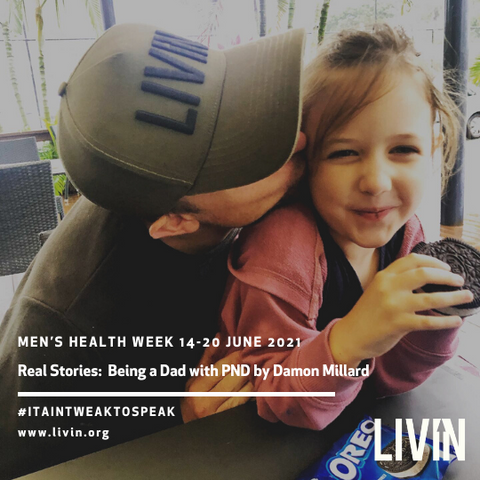 Being a Dad with PND by Damon Millard