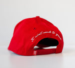 A-Frame Snapback Red by LIVIN