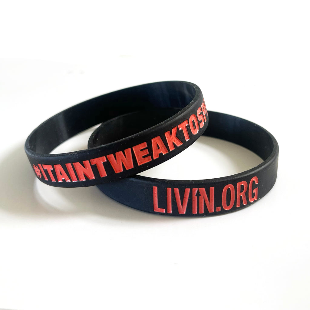 LIVIN Wristband Black - 20 Pack