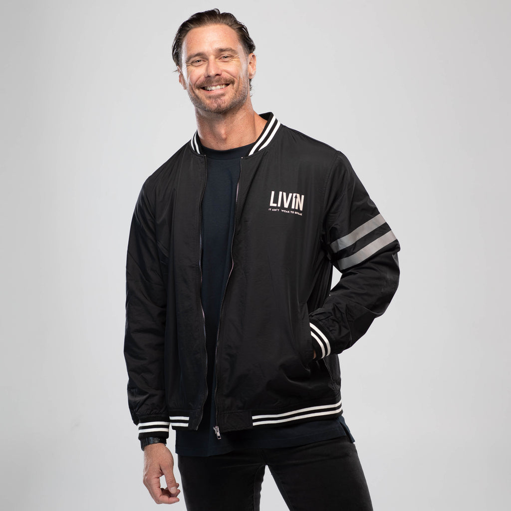Bomber Jacket by LIVIN
