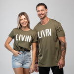 Boost Tee Army by LIVIN
