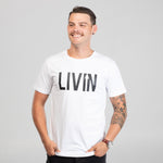 Boost Tee White by LIVIN