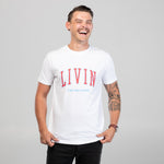 College Tee by LIVIN